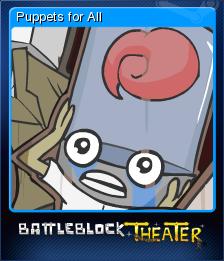 BattleBlock Theater Card 9