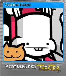 BattleBlock Theater Foil 2