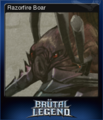 Brutal Legend Card 1