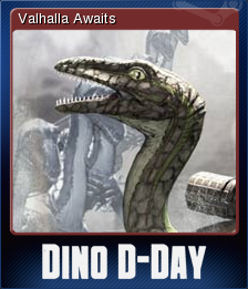 Dino D-Day Card 1