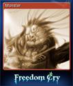 Freedom Cry Card 1
