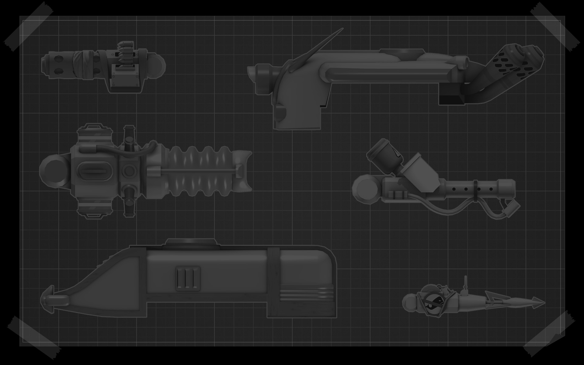 Image gear up background blueprint tank partsg steam trading gear up background blueprint tank partsg malvernweather Image collections