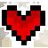 Life Is Strange Emoticon LIS pixel heart