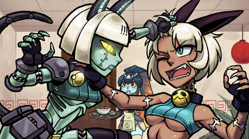 Skullgirls Artwork 05