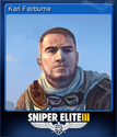 Sniper Elite 3 Card 8