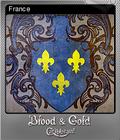 Blood & Gold Caribbean Foil 09