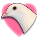 Hatoful Boyfriend Badge 1