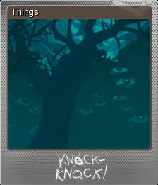 Knock-knock Foil 4