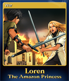 Loren The Amazon Princess Card 1