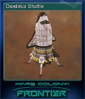 Mars Colony Frontier Card 2