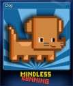 Mindless Running Card 1