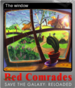 Red Comrades Save the Galaxy Reloaded Foil 4