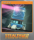 Stealth Inc 2 A Game of Clones Foil 4