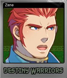 Destiny Warriors RPG Foil 4