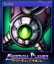 Freedom Planet Card 8