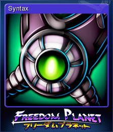 Freedom Planet Card 8