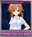 Mahjong Pretty Girls Battle Foil 2