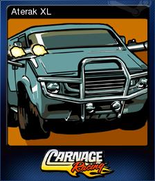 Carnage Racing Card 3