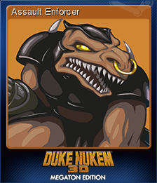 Duke Nukem 3D Megaton Edition Card 1