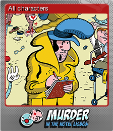 Murder in the Hotel Lisbon Foil 1