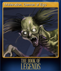 The Book of Legends Card 2