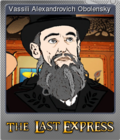 The Last Express Gold Edition Foil 1