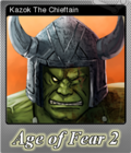 Age of Fear 2 The Chaos Lord Foil 2