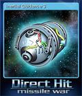 Direct Hit Missile War Card 7