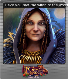 Grim Legends The Forsaken Bride Foil 4
