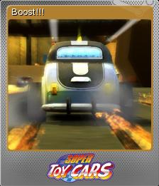 Super Toy Cars Foil 3
