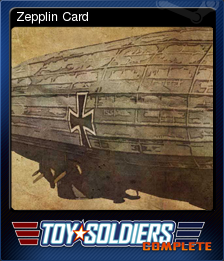 Toy Soldiers Complete Card 03