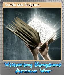 Withering Kingdom Arcane War Foil 5