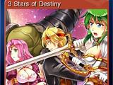 3 Stars of Destiny - 3 Stars of Destiny