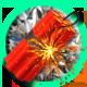 Beast Blaster Badge Foil