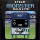 Monster Summer Sale Badge 0500