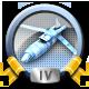 Direct Hit Missile War Badge 4