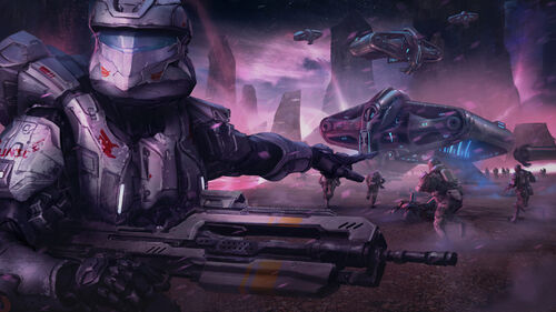 Halo Spartan Assault Artwork 5