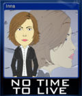 No Time To Live Card 1