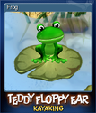 Teddy Floppy Ear Kayaking Card 1