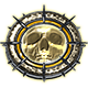 Chainsaw Warrior Badge Foil