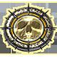 Chainsaw Warrior Badge Foil