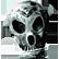 Northmark Hour of the Wolf Emoticon SwordSkull