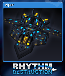 Rhythm Destruction Card 6