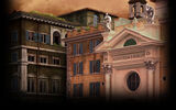 Shadows on the Vatican Act I Greed Background Piazza Farnese
