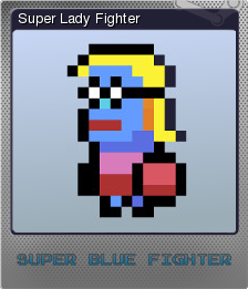 Super Blue Fighter Foil 2
