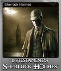 The Testament of Sherlock Holmes Foil 1