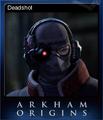 Batman Arkham Origins Card 4