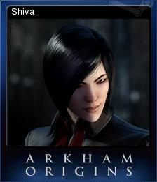 Batman Arkham Origins Card 9