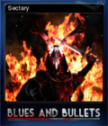 Blues and Bullets Card 3