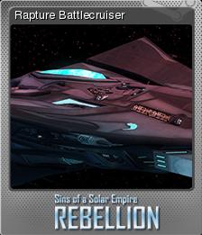 Sins of a Solar Empire Rebellion Foil 13